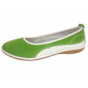Ladies Coolers Summer Fruit Range Leather Ballet Pump Shoes
