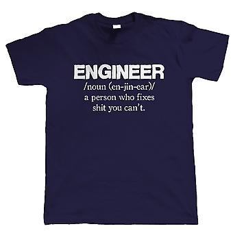 Vectorbomb, Engineer, Mens Funny T Shirt (S to 5XL)