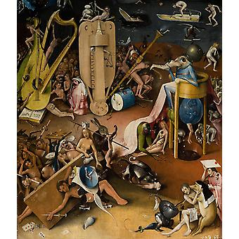 Hieronymus Bosch - Sitting About Poster Print Giclee