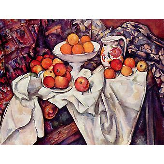 Paul Cezanne - Apples in a Sheet Poster Print Giclee
