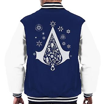 Juletræ Assassins Creed mænds Varsity jakke
