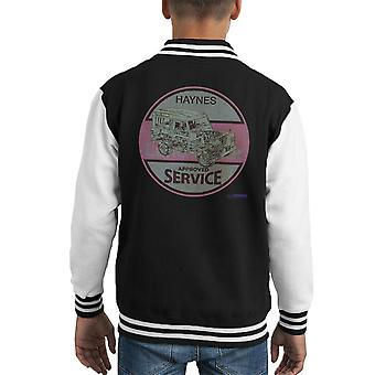Haynes Land Rover Approved Service Kid's Varsity Jacket