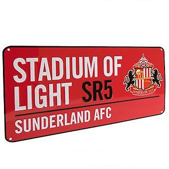 Sunderland Straße Zeichen RD
