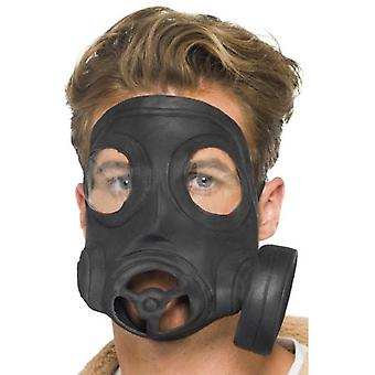 Smiffys Gas Mask Latex Black (Costumes)