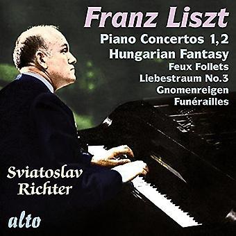 Sviatoslav Richter - Richter Plays Liszt [CD] USA import