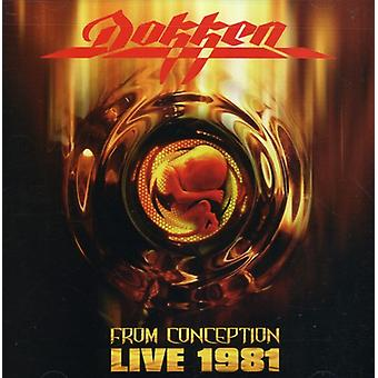 Dokken - From Conception: Live 1981 [CD] USA import