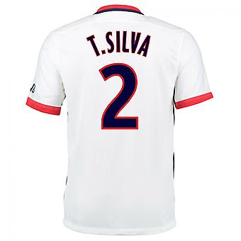 2015-16 PSG Nike Away Kit (T.Silva 2) - Kids