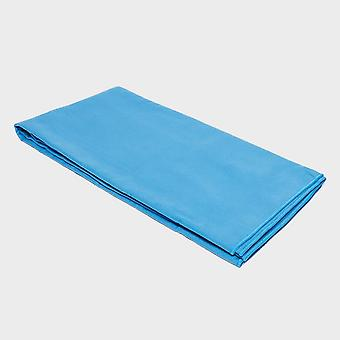 Blue Eurohike Suede Microfibre Towel - Large