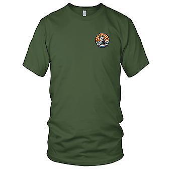 US Coast Guard USCG - WHEC-65 Wanona Owasco Class High Endurance Cutter Embroidered Patch - - Version A Mens T Shirt