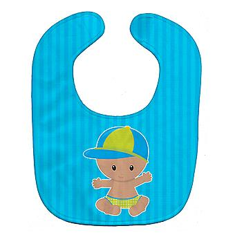 Carolines Treasures  BB8651BIB Beach Baby Boy with Hat Baby Bib