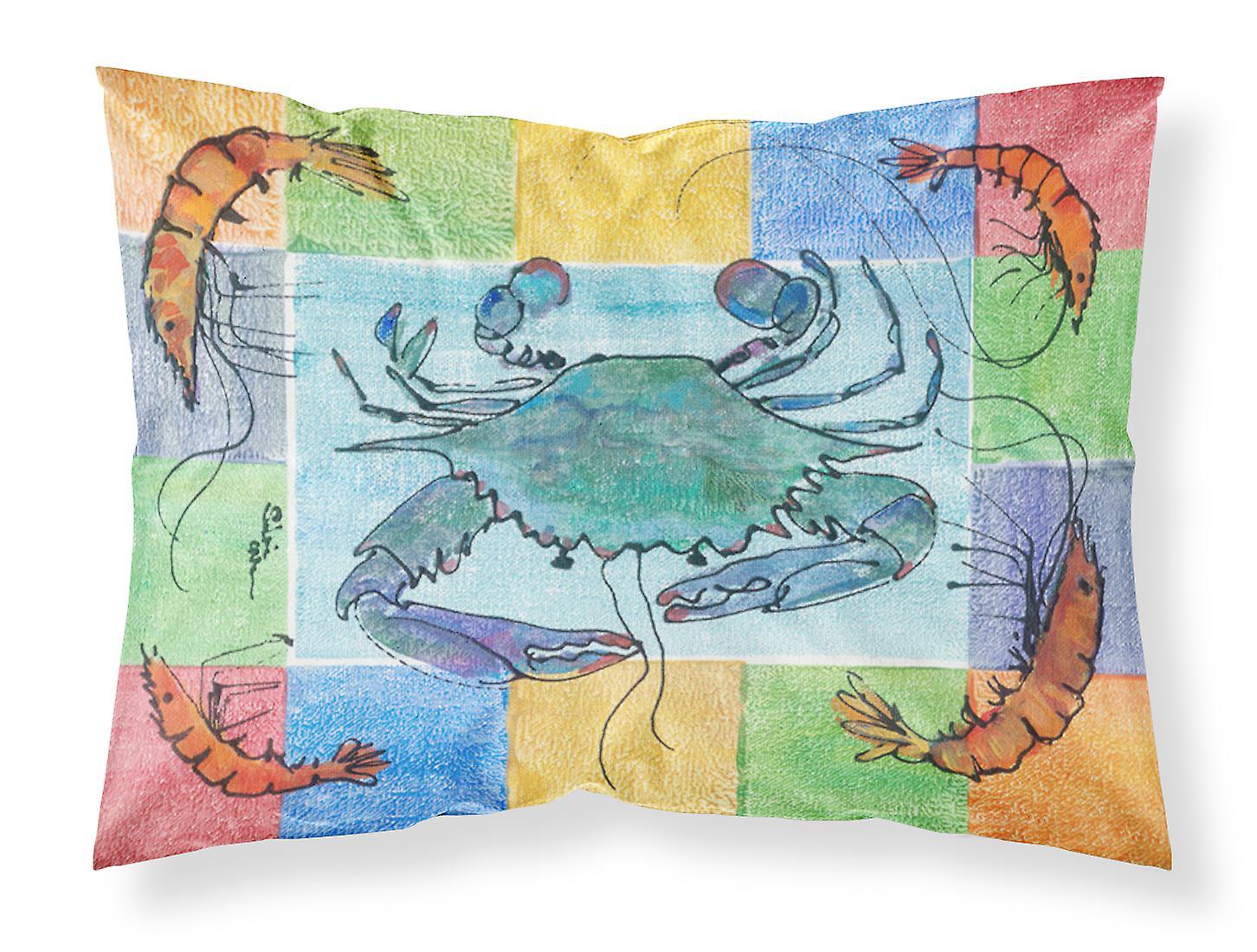 Carolines Standard Tissu Humidité 8040pillowcase Crabe Trésors De Wicking Oreiller P8nwOkX0