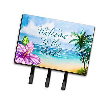 Carolines Treasures  BB8530TH68 Beach Scene Welcome Leash or Key Holder