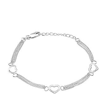 Hart - 925 Sterling zilveren ketting armbanden - W34684X
