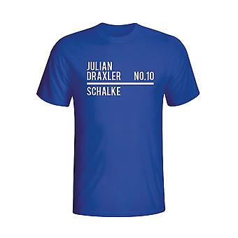 Julian Draxler Schalke Squad T-shirt (niebieski)
