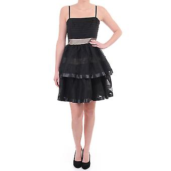 Juicy Couture Womens Tiered Sheer Party Dress