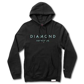 Diamond Supply Co Stone Cut Pullover Hoodie Black