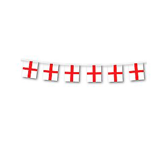 England St George Plastic Bunting