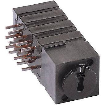 Rotary switch 60 V DC/AC 0.5 A Switch postions 4