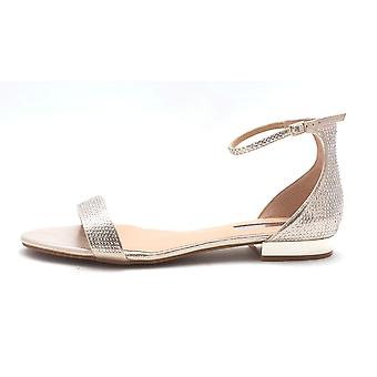 INC International Concepts Womens Yaffa Fabric Open Toe Casual Slide Sandals
