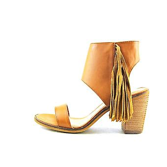 Very Volatile Womens Vermont Leather Open Toe Casual Ankle Strap Sandals