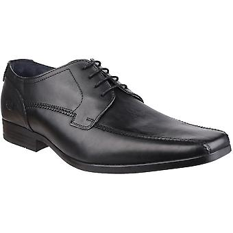 Base London Mens Lytham Excel Lace Up Leather Oxford Darby Dress Shoes