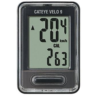 CatEye Velo 9 Cycling Computer - CC-VL820 Black