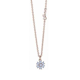 Guess ladies chain necklace necklace stainless steel Rosé UBN61073