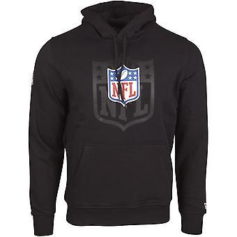 新しい時代 - NFL シールド リーグ ロゴ 2.0 黒のフリース フーディ