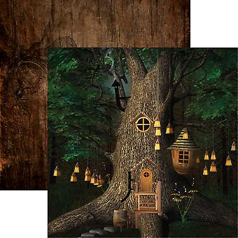 Woodland Elf Double-Sided Cardstock 12