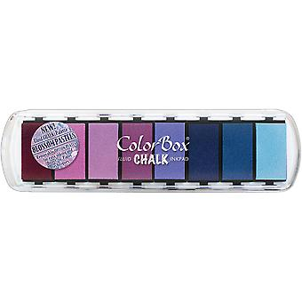 ColorBox Fluid Chalk Ink Pad 8 Colors-Blossom Pastel