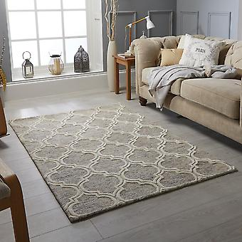 Tapetes de Medina tecelões bege retângulo tapetes liso/quase lisos