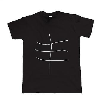 Wonky Abs, Mens rolig T Shirt