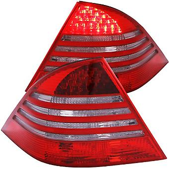 Anzo USA 321122 Mercedes-Benz Red/Smoke LED Tail Light Assembly - (Sold in Pairs)