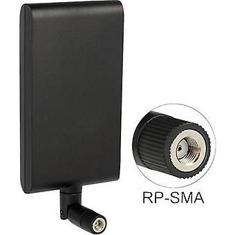 Plano antena WiFi 10 dB 2.4 GHz, 5 GHz Delock 88904