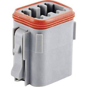 Amphenol AT06 08SA Bullet connector Socket, straight Series (connectors): AT Total number of pins: 8 1 pc(s)