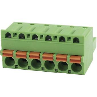 Degson Pin enclosure - cable Total number of pins 6 Contact spacing: 5.08 mm 2EDGKD-5.08-06P-14-00AH 1 pc(s)