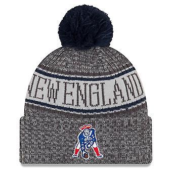 Nowa era NFL linii bocznej grafit kapelusze - New England Patriots