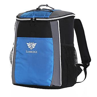 Slimbridge Brean Insulated Picnic Backpack, Blue