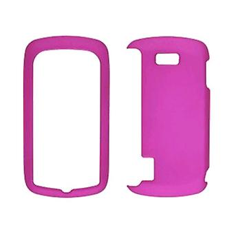 Wireless Solutions Soft Touch Snap-On Case for LG US760 Genesis - Pink