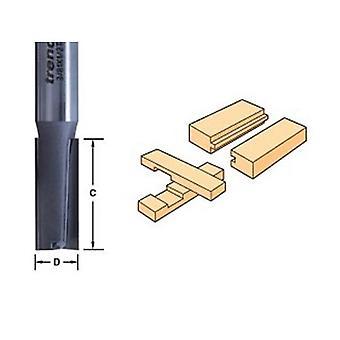 Trend 3/22 X 1/4 Tungsten Carbide Two Flute Cutter