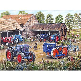 Working Days Over by Roy Didwell 1000 piece jigsaw puzzle 690mm x 480mm (jg)