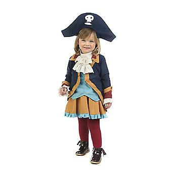 Little pirate girl child costume Seeräuberin girl costume