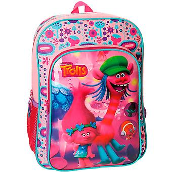 Trolls backpack bag Pink 40x30x16cm