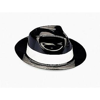 12 Black Gangster Hats | Kids Birthday Party Hats