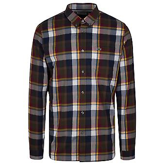 Lacoste Lacoste Regular Fitting Long-Sleeved Check Shirt