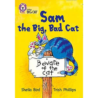 Sam and the Big Bad Cat - Band 03/Yellow by Sheila Bird - Trish Philli
