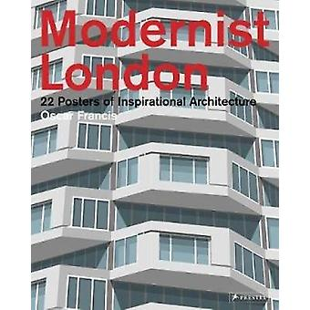 Modernist London - 22 Posters of Inspirational Architecture by Sarah E