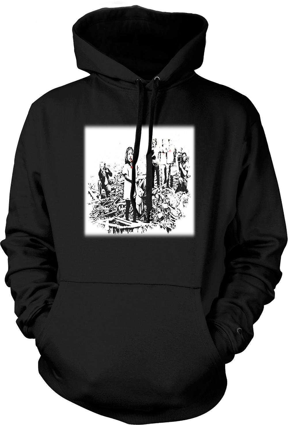 Hoodie Kids - Banksy catastrophes - Conception