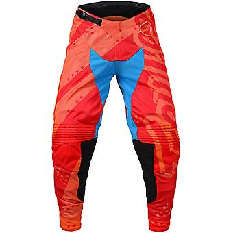 Troy Lee Designs Honey-Red 2018 SE Air Shadow MX Pant