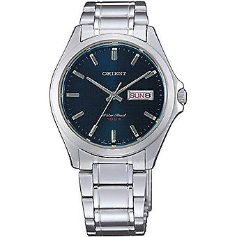 Orient men's Quartz analogue watch with stainless steel band FUG0Q004D6